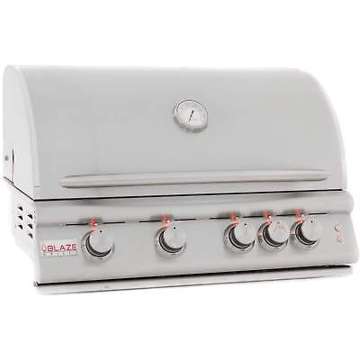 Blaze Built-In Propane Gas Grill with Lights, 32
