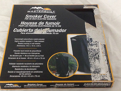 Masterbuilt 30-Inch Electric Smoker Cover -  Brand NEW *