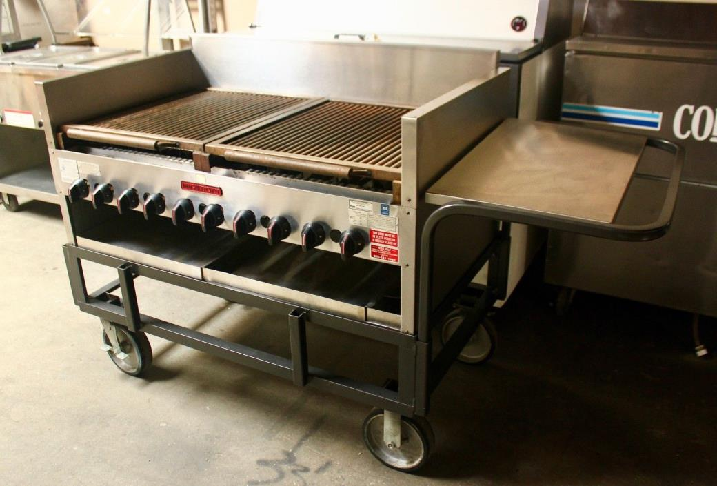 Portable Magikitch'n gas grill heavy duty
