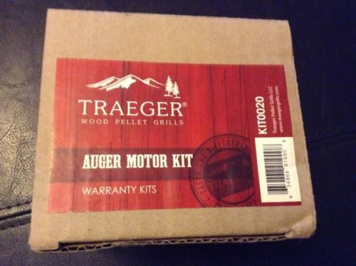 Traeger Wood Pellet Grills Auger Motor Kit KIT0020 Made By TRAEGER ~ New In Box