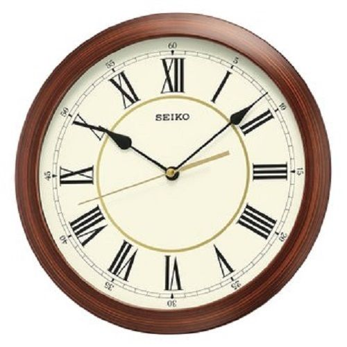 *BRAND NEW* Seiko Round White Dial Clock Watch QXA597ALH