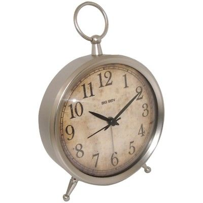 Westclox(R) 49829V Big Ben(R) Tabletop Alarm Clock with Decorative Ring Top