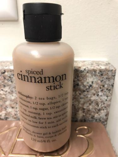 philosophy body wash- Spiced Cinnamon Stick 4OZ