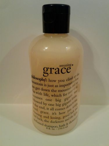 PRE COTY Pholosophy Amazing Grace 3 in 1 Orig Scent Formula 8 oz Sealed Bottle