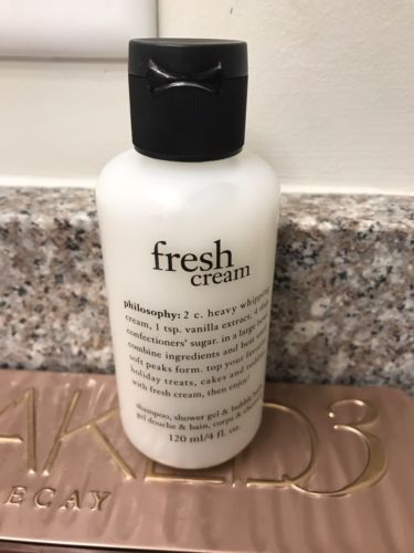 Philosophy Fresh Cream 4oz 3-in-1 NEW & Sealed SHOWER GEL