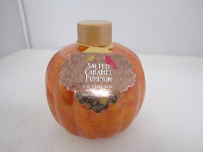 Bath & Body Works 2-in-1 Body Wash/Bubble Bath SALTED CARAMEL PUMPKIN (0320)