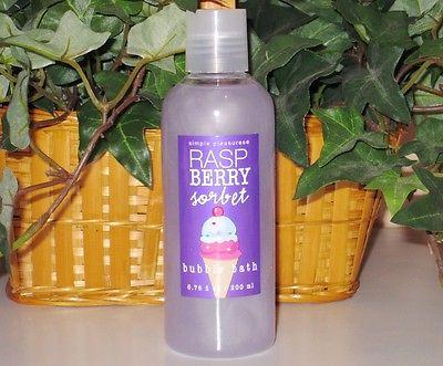 Simple Pleasures Raspberry Sorbet Bubble Bath ~ 6.76 fl oz