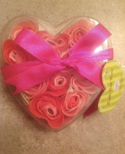 Bubble Bath Roses Bouquet New with tags Ready for Valentines day, anniversary...