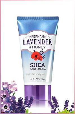 Bath and Body Works French Lavender Honey with Shea Hand Cream discontinued RARE