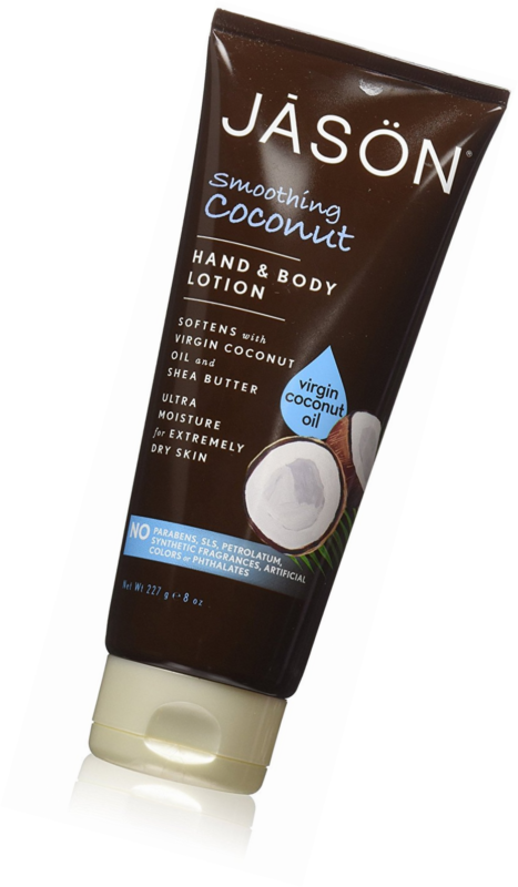 Jason Coconut Hand and Body Lotion, 8 Ounce