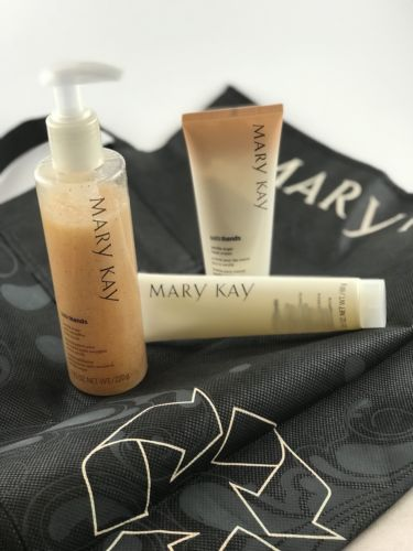 Mary Kay Satin Hands Vanilla Sugar PLUS Free MK Eco-Shopping Tote