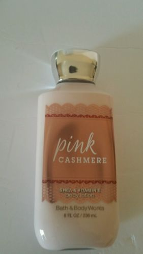Bath and body Works pink cashmere she and vitamin  E body lotion 8 FL oz. New
