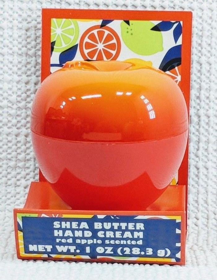 New Shea Butter Hand Cream Red Apple Scented Net Wt. 1 oz.