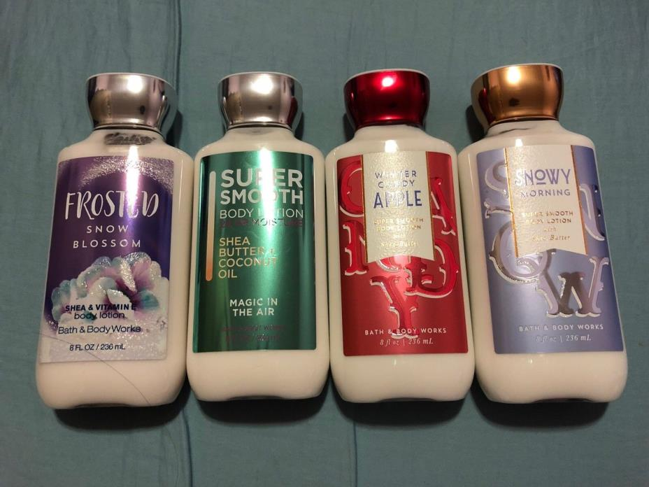 Bath & Body Works 8oz - 24 Hour Moisture+Shea butter Lotion/Cream NEW FORMULA