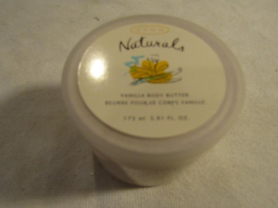 AVON NATURALS VANILLA BODY BUTTER  RETIRED  New Stock 41984 1.75ml 5.91 Fl Oz