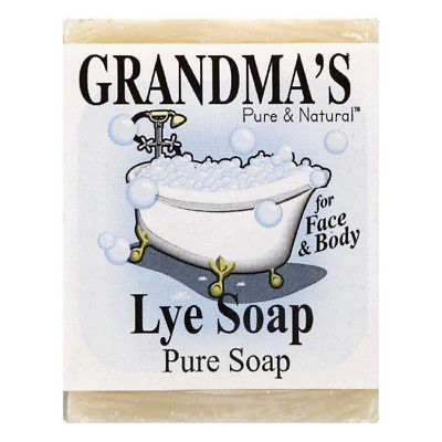 Grandmas Pure & Natural Lye Soap, Pure