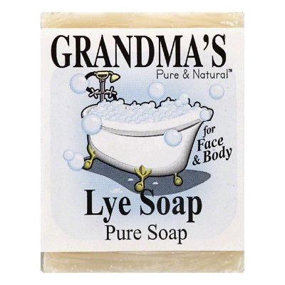 Grandmas Pure & Natural Lye Soap, Pure