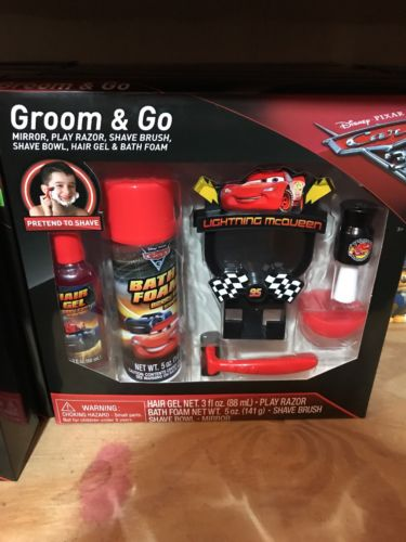 Disney Cars 6 pc. Groom and Go Set-BRAND NEW!