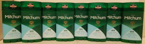 8 Mitchum Men Advanced Control Antiperspirant & Deodorant Solid - 2.7 oz each