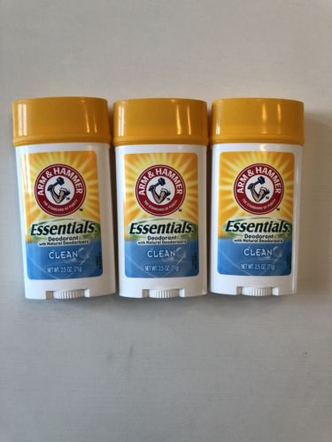 Arm And Hammer Essentials Clean 3 pack
