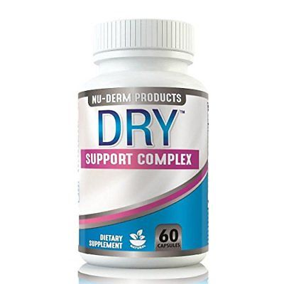 Nuderm DRY HYPERHIDROSIS TREATMENT pills stop sweating, sweaty hands Sweaty Feet