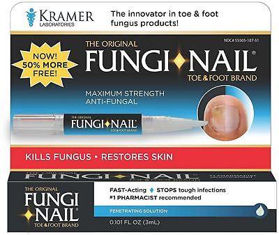 Fungi-Nail Brand Toe - Foot Pen Anti-Fungal Solution 0.101 oz (Pack of 7)