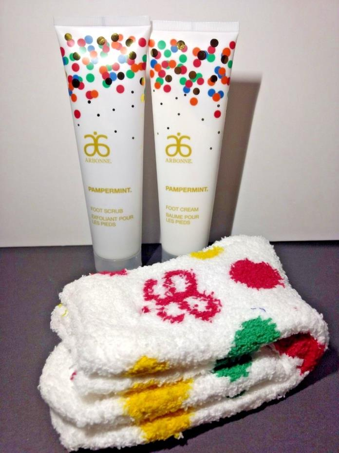 Arbonne Pampermint Foot Care Gift Set