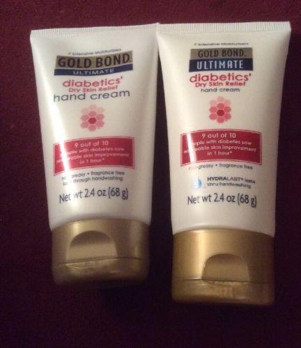 GOLD BOND ultimate Diabetic Hand Cream Duo