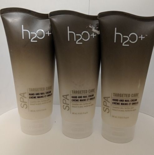 h2o+ Plus Spa Targeted Care Hand and Nail Cream LOT OF (3) 6fl oz EACH