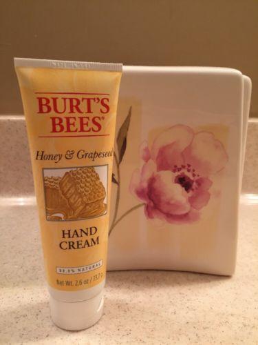 Burt's Bees Honey And Grapeseed Hand Cream 2.6 Oz BNIP 99.9% Natural
