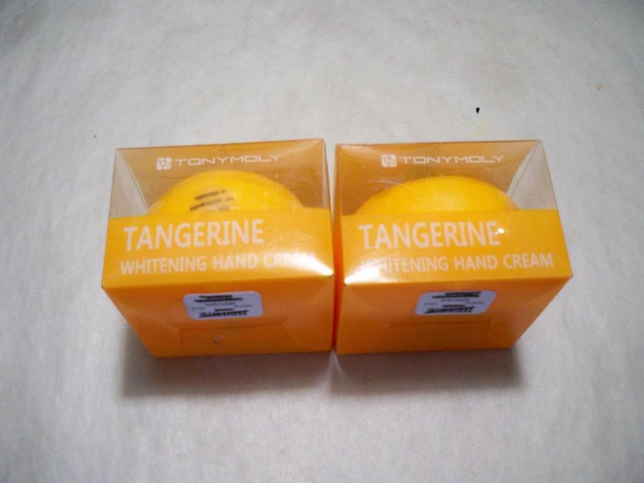 2-TONY MOLY Tangerine Whitening Hand Cream 30g