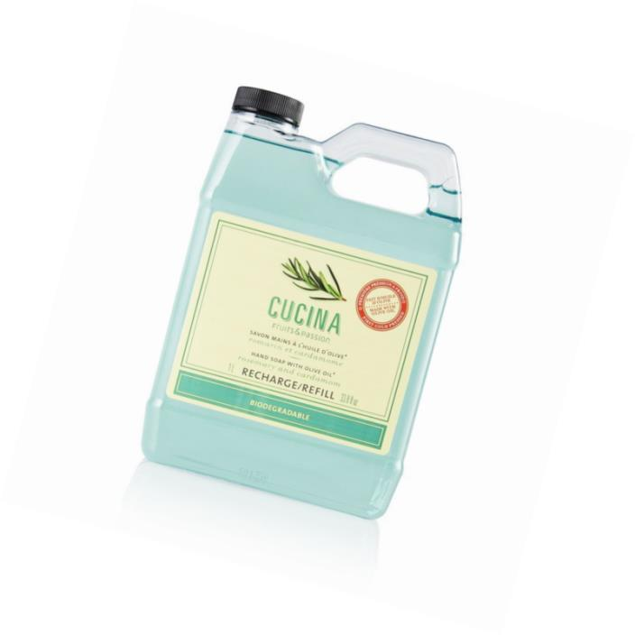 Cucina Hand Soap Refill Rosemary and Cardamom 33.8 Fl. Oz.