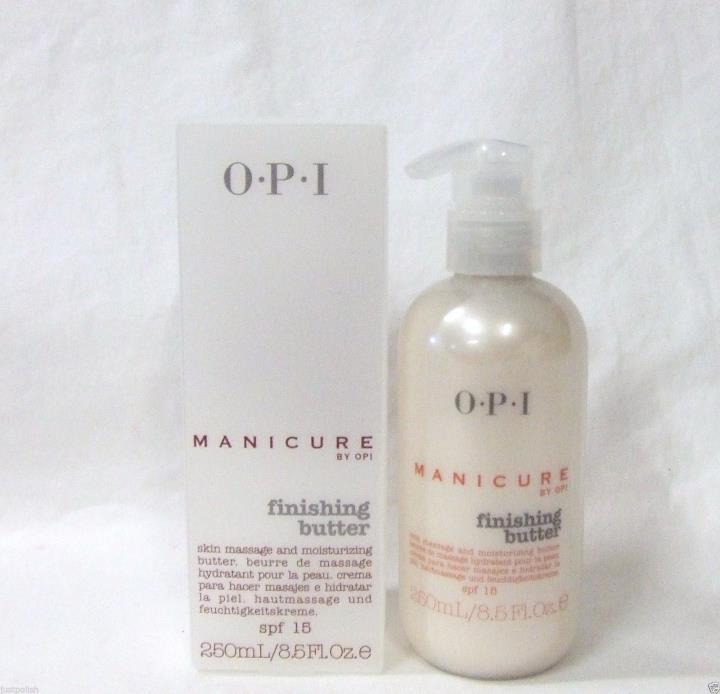 OPI Nail Manicure Finishing Butter 8.5oz / 250ml