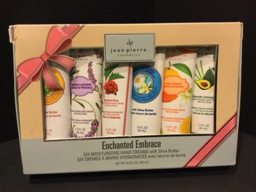JEAN PIERRE Enchanted Embrace Hand Creams With Shea Butter Gift Set Of 6 SEALED