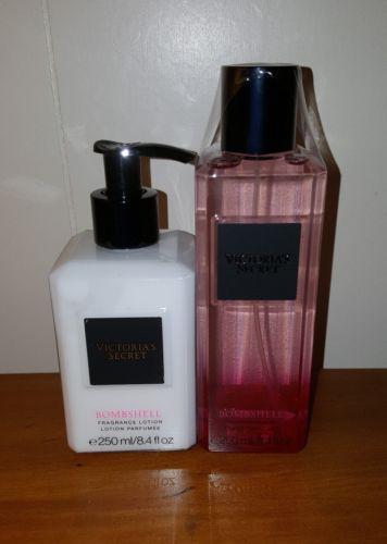Victoria's Secret Bombshell Fragrance Lotion 8.4oz & Mist 8.4oz, NWT