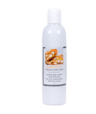 Almond Biscotti Prebiotic Body Wash 8 oz NIP