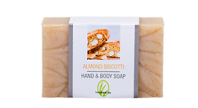 Almond Biscotti Hand & Body Bar Soap NIP
