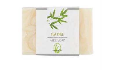 Tea Tree Face Soap Coconut Oils Bar NIP
