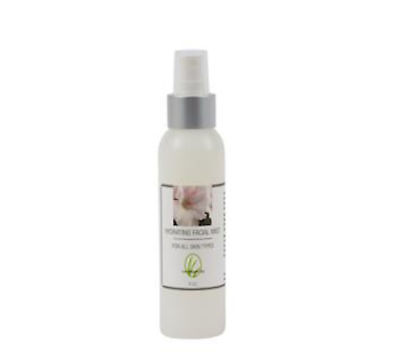 Hydrating Facial Mist Witch Hazel Honeysuckle Rose Geranium Jasmine 4 oz NIP
