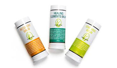 Healing Recovery Soothing Stick Trio Balm Clove Peppermint Menthol Set 3 NIP