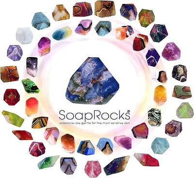 10 Large Soap Rocks -T S Pink - GREAT HOLIDAY GIFT!!