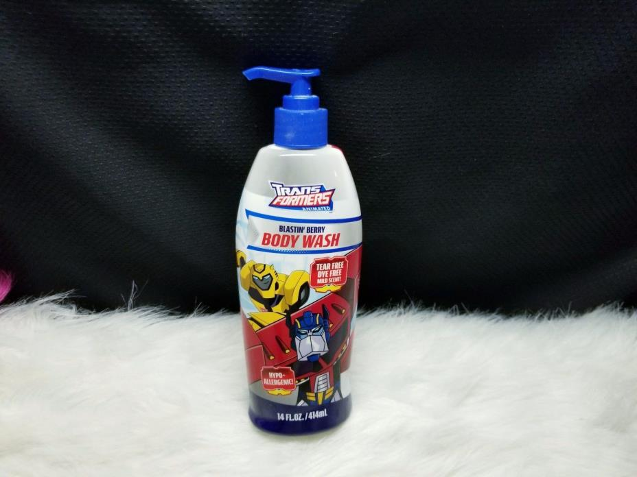 Transformers Animated Blastin' Berry Body Wash 14oz
