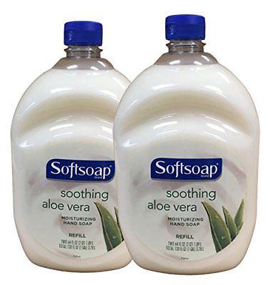 Softsoap Hand Soap Soothing Aloe Vera Moisturizing Hand Soap Refill 64 Flu..