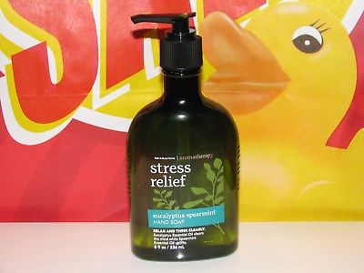 1 Bath Body Works Anti Bacterial Hand Soap EUCALYPTUS SPEARMINT Oils 8 oz