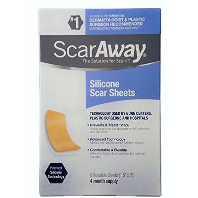 ScarAway Silicone Scar Sheets (1.5