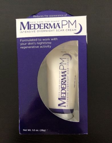 MEDERMA PM INTENSIVE OVERNIGHT SCAR CREAM EXPIRATION 7/18