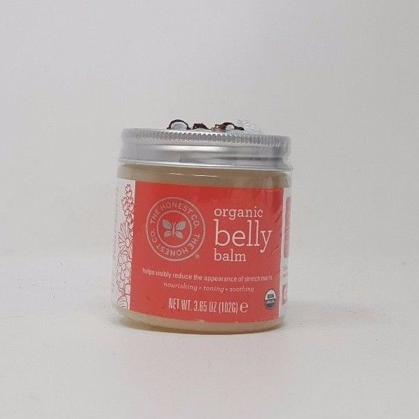 The Honest Company Organic Belly Balm 3.65 oz (102 grams) Balm