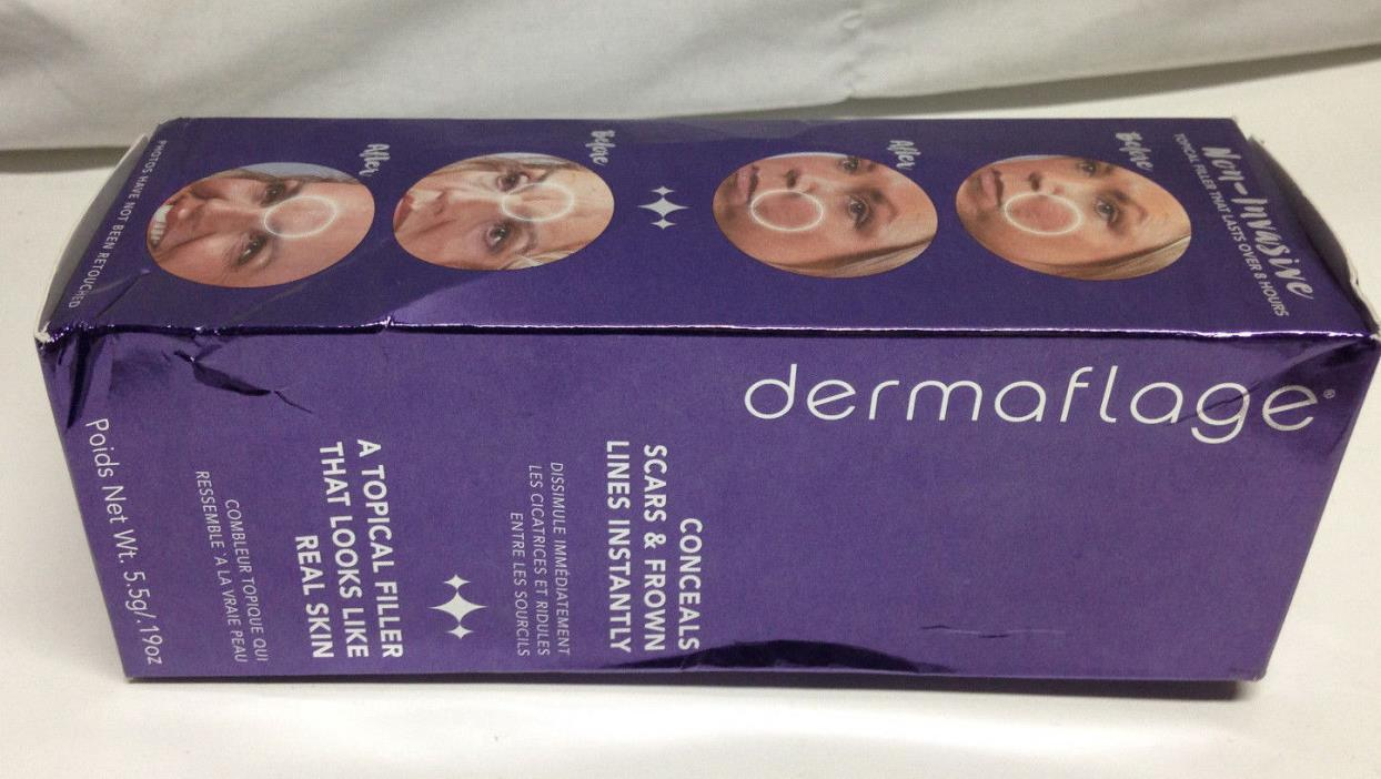 Dermaflage Cover Up - Concealer for Scars Frown Lines from Hollywood Pro Light