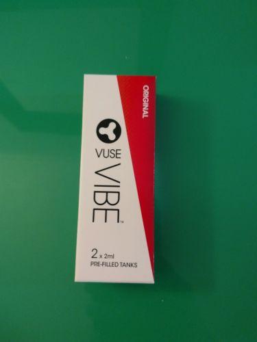 Vuse Vibe Refill original flavor. 2 tanks per box