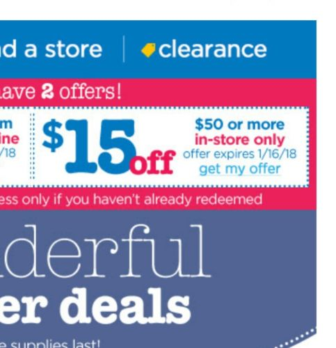 buy buy baby coupon $15 off $50 in store only